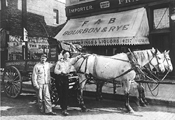 Chicago Roofing and Construction - Brian Allendorfer Company Horse-drawn wagon